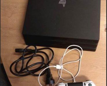 Do 4.8.2020 Aukce elektroniky (Sony Playstation 4). Vyvolávací cena 3.500 Kč, ➡️ ID727876
