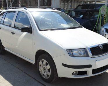 Do 27.7.2020 Aukce automobilu ŠKODA FABIA combi 1.4. Vyvolávací cena 11.000 Kč, ➡️ ID729948