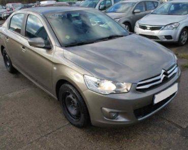 Do 22.7.2020 Aukce automobilu Citroën C-Elysée 1.6 HDI. Vyvolávací cena 112.000 Kč, ➡️ ID730124
