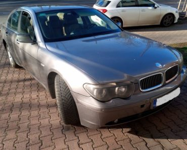 11.9.2020 Dražba automobilu BMW 745i. Vyvolávací cena 20.030 Kč, ➡️ ID729317