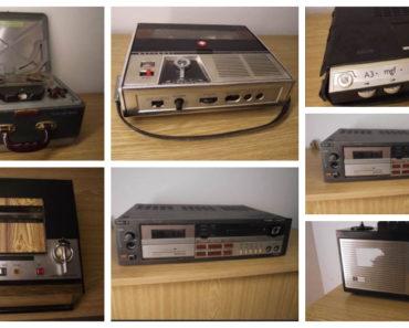 Do 27.7.2020 Aukce elektroniky (různé magnetofony). Vyvolávací cena 4.000 Kč, ➡️ ID728292