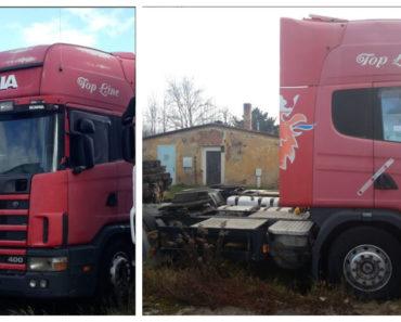6.8.2020 Dražba nákladního automobilu SCANIA R 124 LA, 4X2. Vyvolávací cena 1.000 Kč, ➡️ ID727594