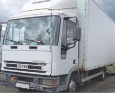14.8.2020 Dražba nákladního automobilu Iveco Eurocargo. Vyvolávací cena 1.000 Kč, ➡️ ID729724