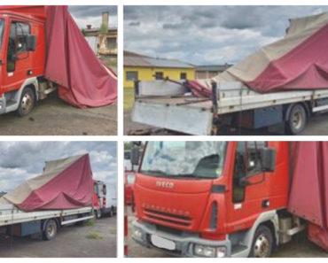 14.8.2020 Dražba nákladního automobilu Iveco Eurocargo. Vyvolávací cena 1.000 Kč, ➡️ ID729732