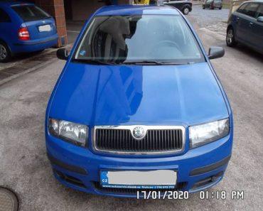 Do 27.7.2020 Aukce automobilu Škoda Fabia Combi. Vyvolávací cena 32.100 Kč, ➡️ ID729587