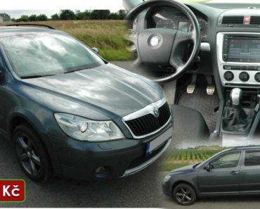 Do 10.8.2020 Aukce automobilu Škoda Octavia 2,0 TDI SCOUT. Vyvolávací cena 130.000 Kč, ➡️ ID729612