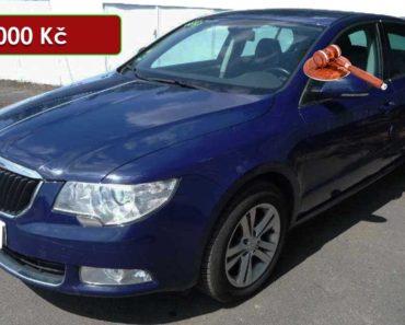 Do 22.7.2020 Aukce automobilu Škoda Superb II 1.6 TDI. Vyvolávací cena 189.000 Kč, ➡️ ID730083