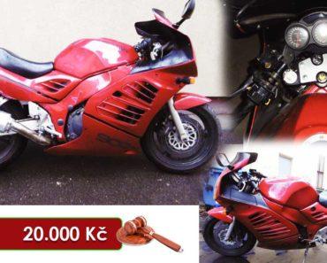 10.8.2020 Dražba motocyklu Suzuki RF 900 GT. Vyvolávací cena 20.000 Kč, ➡️ ID726950