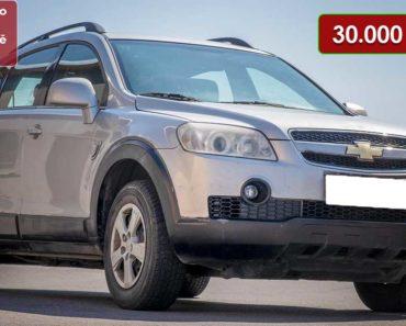 21.8.2020 Dražba automobilu Chevrolet Captiva. Vyvolávací cena 30.000 Kč, ➡️ ID738386