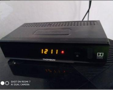 5.8.2020 Dražba elektroniky (STB Thomson THT 712 + DO). Vyvolávací cena 100 Kč, ➡️ ID735926