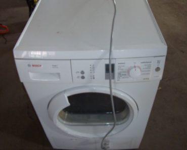 5.8.2020 Dražba elektroniky (Pračka značky Bosch). Vyvolávací cena 667 Kč, ➡️ ID735936
