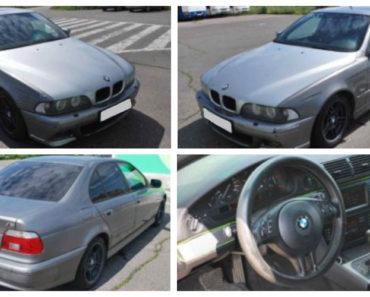 5.9.2020 Dražba automobilu BMW 530d. Vyvolávací cena 35.000 Kč, ➡️ ID738183