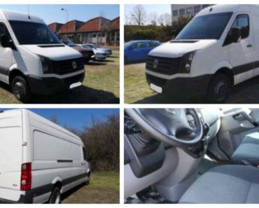 5.9.2020 Dražba nákladního automobilu VW Crafter 2.0. Vyvolávací cena 395.000 Kč, ➡️ ID738204