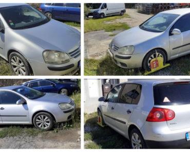 10.9.2020 Dražba automobilu Volkswagen Golf. Vyvolávací cena 8.000 Kč, ➡️ ID738039