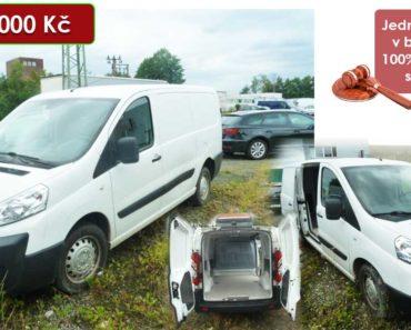 15.9.2020 Dražba automobilu Peugeot Expert. Vyvolávací cena 120.000 Kč, ➡️ ID739547
