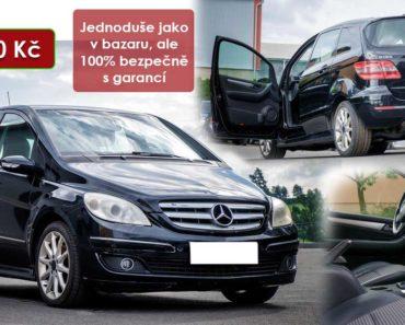 21.8.2020 Dražba automobilu Mercedes-Benz B180 CDI. Vyvolávací cena 35.000 Kč, ➡️ ID738378