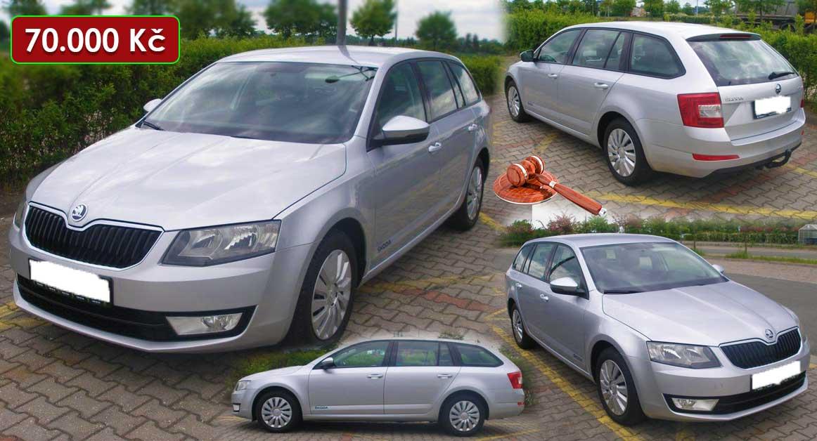 6.10.2020 Aukce automobilu Škoda Octavia Combi 2.0 TDi. Vyvolávací cena 70.000 Kč, ➡️ ID740773