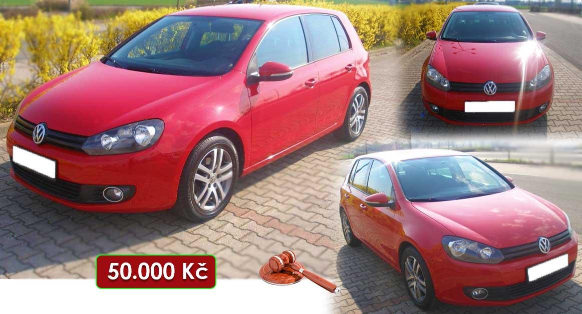 1.10.2020 Aukce automobilu Volkswagen Golf. Vyvolávací cena 50.000 Kč, ➡️ ID740725