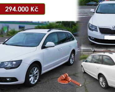 Do 10.8.2020 Aukce automobilu Škoda Superb combi 2.0 TDI. Vyvolávací cena 294.000 Kč, ➡️ ID737909