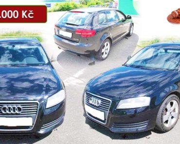 Do 10.8.2020 Aukce automobilu Audi A3 2.0 TDI. Vyvolávací cena 94.000 Kč, ➡️ ID737921