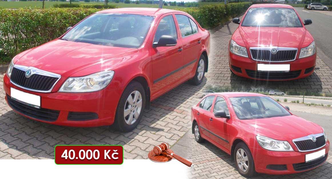 6.10.2020 Aukce automobilu Škoda Octavia. Vyvolávací cena 40.000 Kč, ➡️ ID740739
