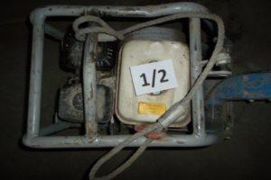 9.9.2020 Dražba stroje (Vibrační deska Weber a vibrační pěch). Vyvolávací cena 6.000 Kč, ➡️ ID738329
