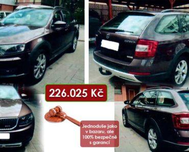 Do 17.8.2020 Výběrové řízení na prodej automobilu Škoda Octavia Combi 2.0 TDI Scout. Min. kupní cena 226.025 Kč, ➡️ ID736201