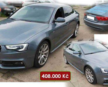 3.10.2020 Aukce automobilu Audi A5 2.0 TDI Quattro S-LINE. Vyvolávací cena 408.000 Kč, ➡️ ID753452