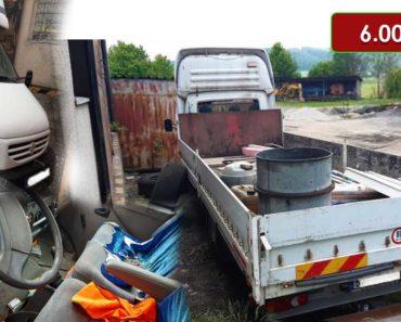 22.10.2020 Dražba nákladního automobilu Renault Mascott. Vyvolávací cena 6.000 Kč, ➡️ ID749078