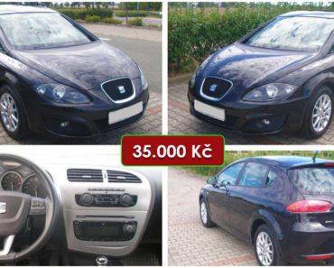 2.10.2020 Aukce automobilu Seat Leon 1.6 MPI. Vyvolávací cena 35.000 Kč, ➡️ ID752844