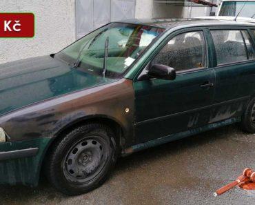 21.10.2020 Dražba automobilu Škoda Octavia Combi. Vyvolávací cena 5.000 Kč, ➡️ ID752096