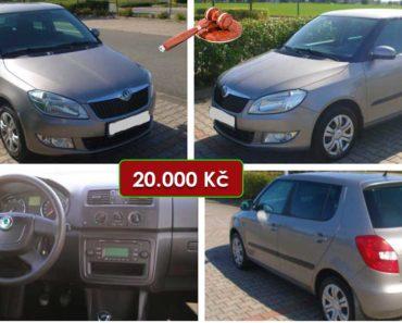 16.10.2020 Aukce automobilu Škoda Fabia 1.2 HTP. Vyvolávací cena 20.000 Kč, ➡️ ID752886