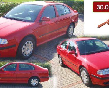 15.10.2020 Aukce automobilu Škoda Octavia 1.6 MPI. Vyvolávací cena 30.000 Kč, ➡️ ID752373