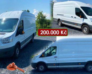 Zisková Dražba Ford Transit MAXI, 2.0 TDCI – vydraženo jen za: 255.000 Kč