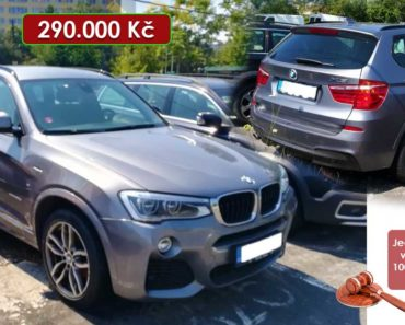 Zisková Dražba BMW X3 xDRIVE 20D – vydraženo jen za: 630.000 Kč