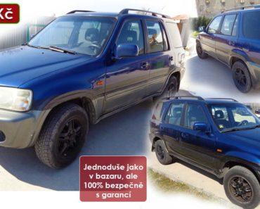 Zisková Dražba Honda CR-V – vydraženo jen za: 10.000 Kč