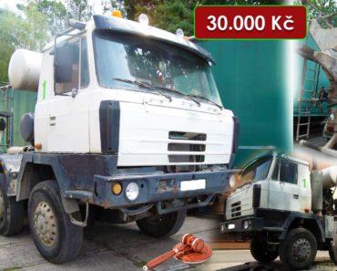 21.10.2020 Dražba nákladního automobilu Tatra T815. Vyvolávací cena 30.000 Kč, ➡️ ID752152
