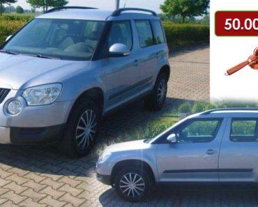 2.10.2020 Aukce automobilu Škoda Yeti. Vyvolávací cena 50.000 Kč, ➡️ ID752364
