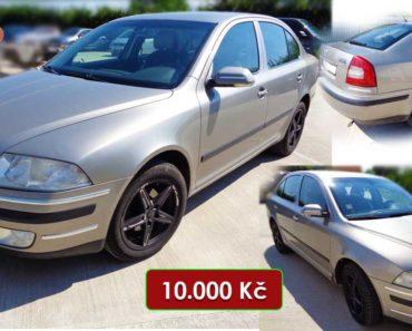27.10.2020 Dražba automobilu Škoda Octavia. Vyvolávací cena 10.000 Kč, ➡️ ID751358