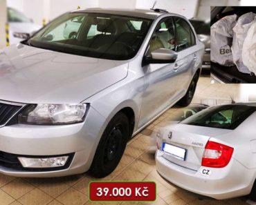 Do 24.9.2020 Aukce automobilu Škoda Rapid 1.4 TDi. Vyvolávací cena 39.000 Kč, ➡️ ID751161