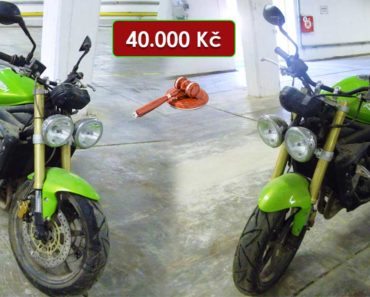 21.10.2020 Dražba motocyklu Triumph Street Triple. Vyvolávací cena 40.000 Kč, ➡️ ID751668