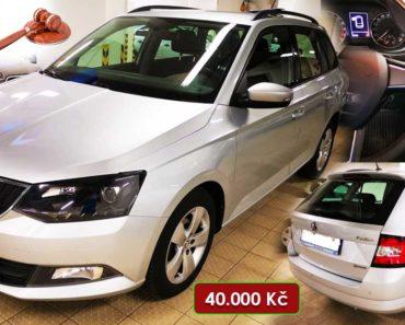 Do 24.9.2020 Aukce automobilu Škoda Fabia Combi 1.4 TDi. Vyvolávací cena 40.000 Kč, ➡️ ID751152