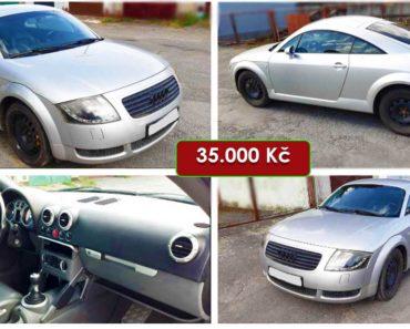 Do 31.10.2020 Výběrové řízení na prodej automobilu Audi TT. Min. kupní cena 35.000 Kč, ➡️ ID744942