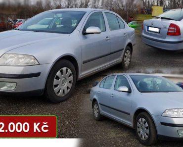 19.10.2020 Dražba automobilu Škoda Octavia. Vyvolávací cena 32.000 Kč, ➡️ ID752101