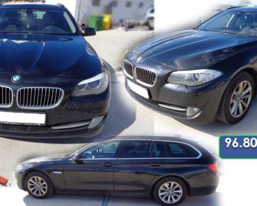 Zisková Dražba BMW 525 D – vydraženo jen za: 217.500 Kč