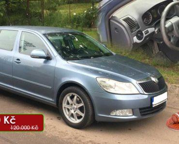 Zisková Dražba Škoda Octavia Combi Ambiente – vydraženo jen za: 103.000 Kč
