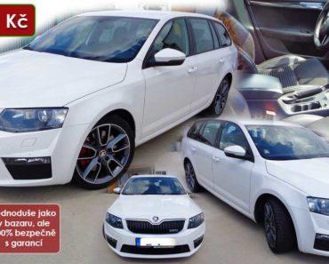 27.10.2020 Dražba automobilu Škoda Octavia Combi RS. Vyvolávací cena 130.000 Kč, ➡️ ID750701