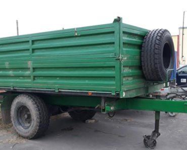 Do 18.11.2020 Výběrové řízení na prodej návěsu - traktorový sklápěcí. Min. kupní cena 35.000 Kč, ➡️ ID758762