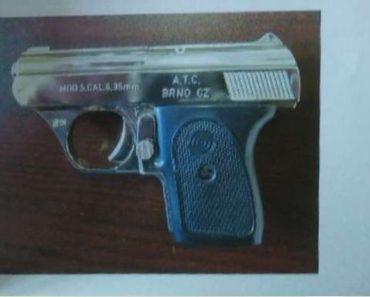 Do 8.11.2020 Výběrové řízení na prodej zbraně (Pistole samonabíjecí, ATC Brno, Browning). Min. kupní cena 500 Kč, ➡️ ID759135