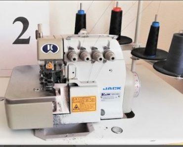 15.11.2020 Dražba stroje (Čtyřnitkový šicí stroj zn. OVERLOCK JK-768BDI-4 Jack). Vyvolávací cena 1.900 Kč, ➡️ ID759176